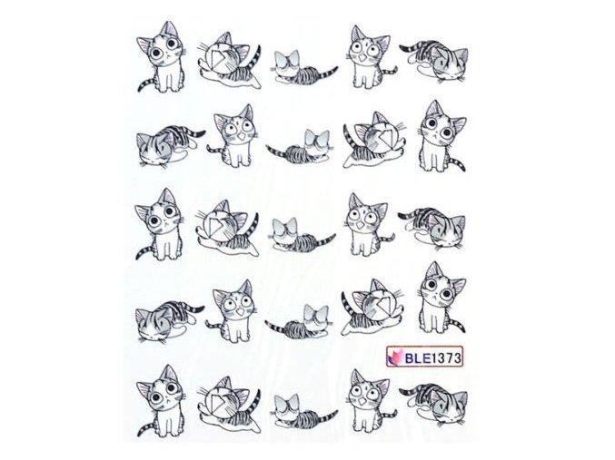 """Nálepky na nechty """"CAT"""""""