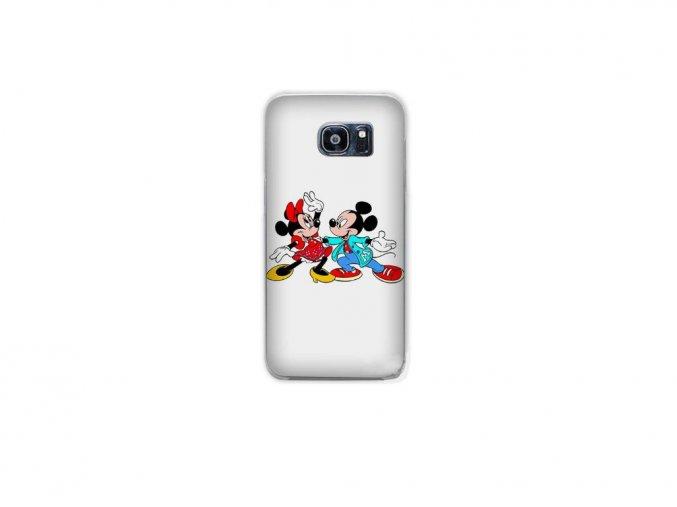 Samsung Galaxy S5 mini ochranný kryt Mickey a Minnie