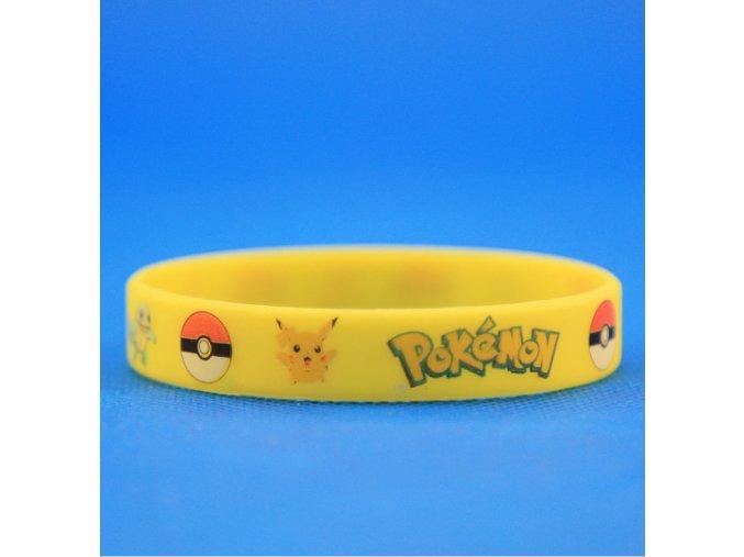 Náramok Pokémon žltý