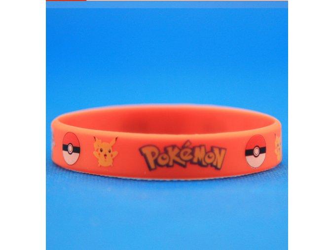 Náramok Pokémon červený