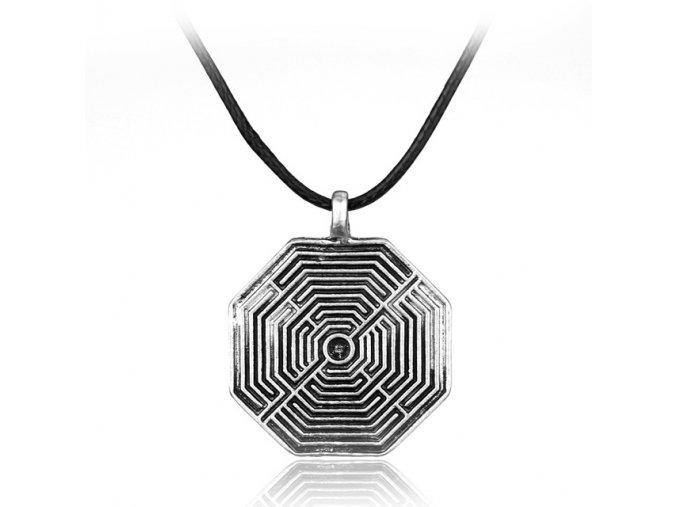 Náhrdelník Labyrint