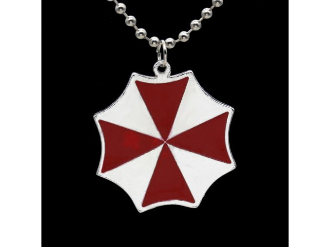 Umbrella font b Corporation b font Resident Evil Chain Necklace Retro Collana Vintage Accessories Bayan Kolye