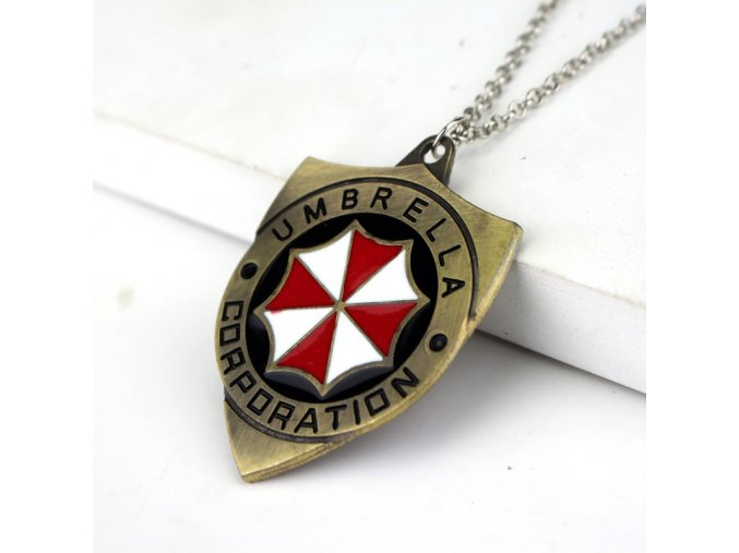 Náhrdelník Resident evil - Umbrella Corporation