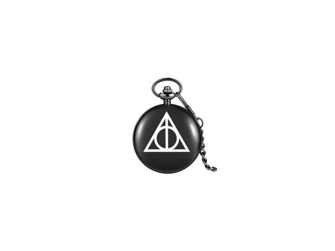 Black Triangle The Deathly Hallows Lord Printing Analog Quartz Pocket Watch Necklace Theme Collectibles for Men.jpg 200x200