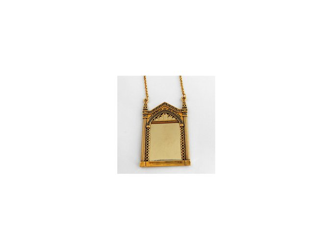Freeshipping The Mirror of Erised necklace QQ02.jpg 200x200