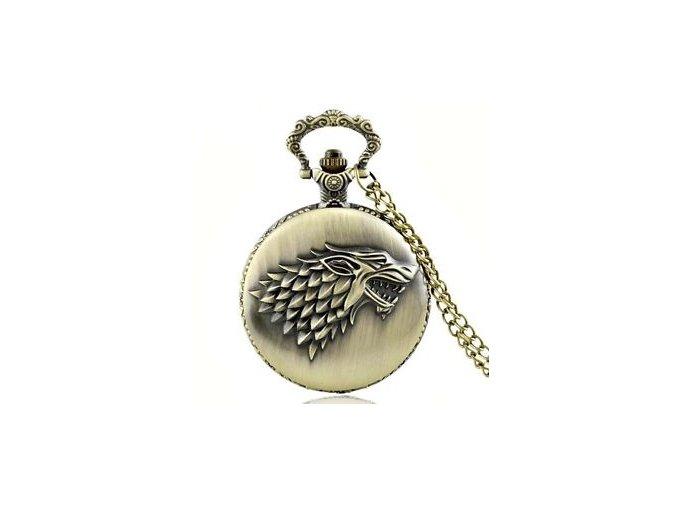 Vreckové hodinky Stark Bronz