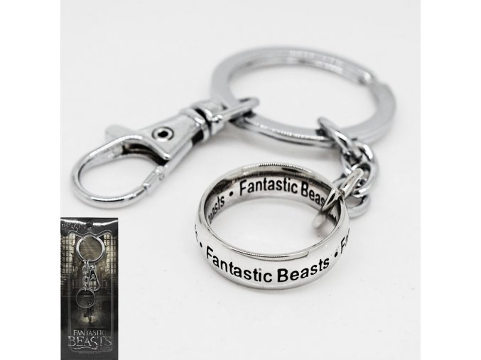 Fantastic Beasts and Where to font b Find b font Them Keychain Pendent Key Rings Jewelry