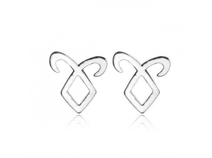 New Fashion The Mortal Instruments City of Bones Angelic Power Rune Earrings.jpg 640x640