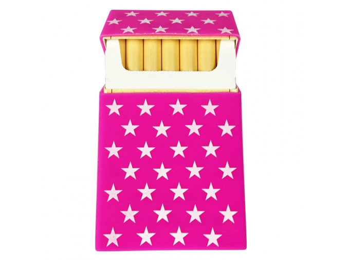 Wholesale Pink Star Cigarette Case Cover Man Lady Cigarette Case Smoking Accessories Silicone Cigarette Box Soft.jpg 220x220