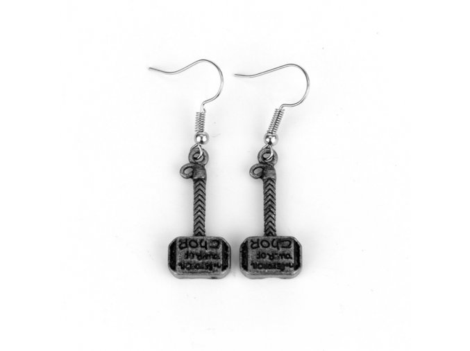 Fashion Thor Hammer Earrings Avengers Series Mini Hammer Drop Earrings gift For fans movie jewelry Free.jpg 640x640