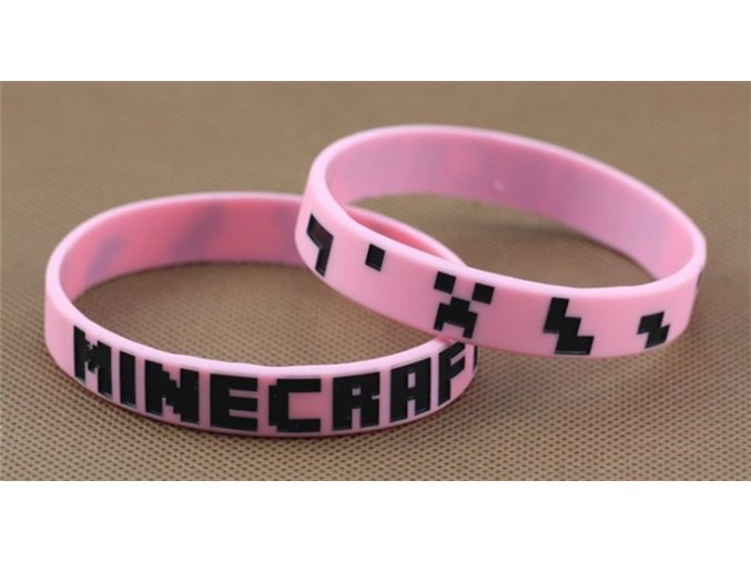 Minecraft náramok 1