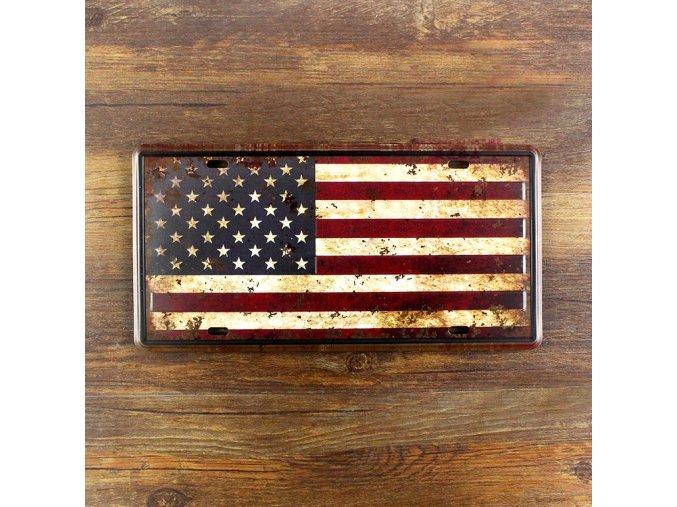 font b USA b font flag Vintage doorplate decoration retro poster iron plate metal wall