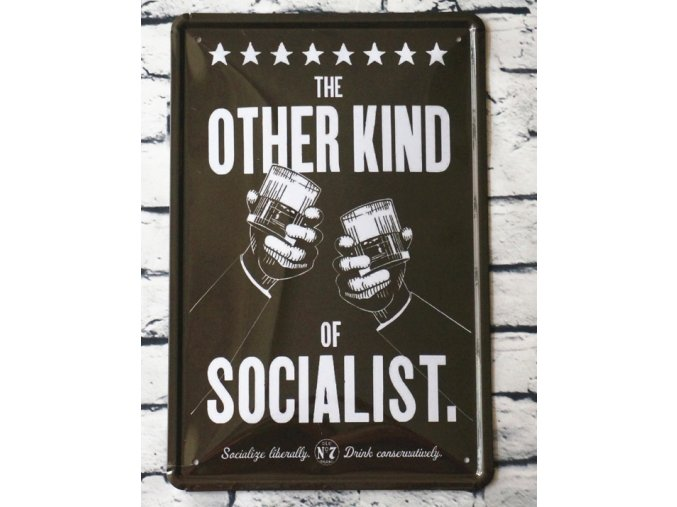 The other font b kind b font of socialist Beer Advertising Metal Tin font b signs