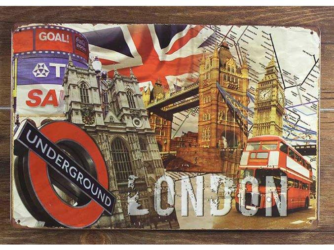 font b LONDON b font UNDERGROUND Vintage font b Metal b font font b Signs
