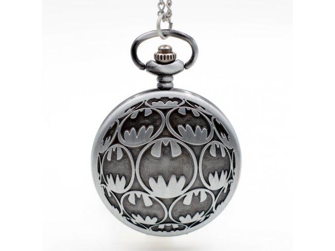 2017 New Design font b Batman b font Quartz Pocket Watch Pendant Necklace Chain Gift Men