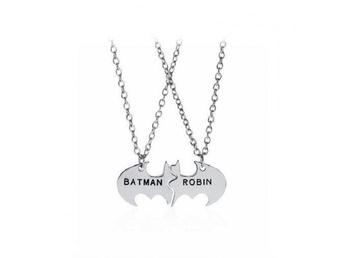Trendy font b Batman b font font b Robin b font Lovers font b Necklace b