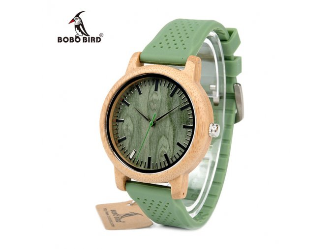 Bobo Bird drevené hodinky