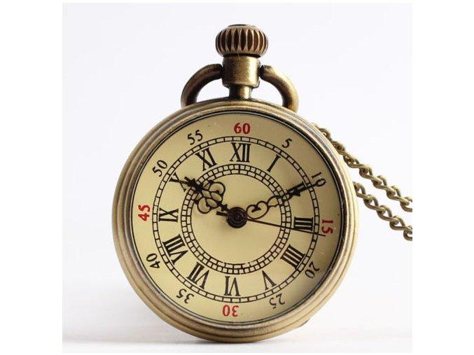 Vreckové hodinky so starodávnym ciferníkom