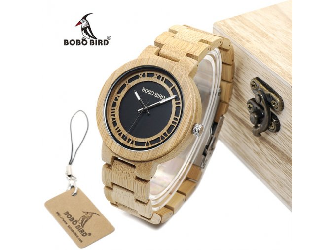 BOBO BIRD WN19 Wooden Watch Roman Digital Face Top Brand Luxury Clock for Men Accept Logo.jpg 640x640