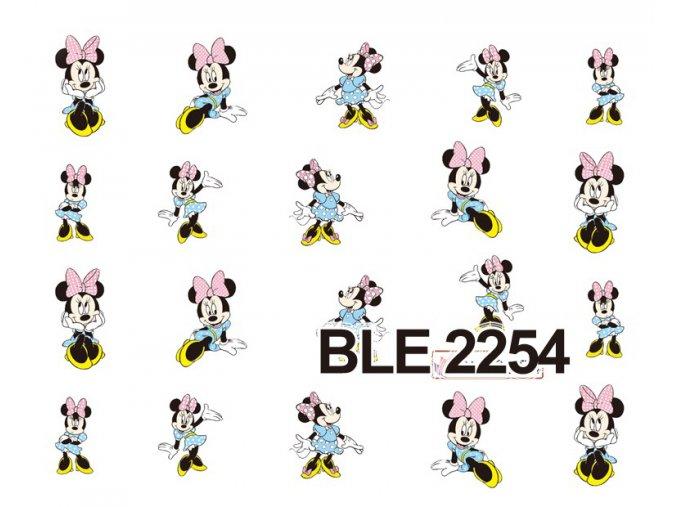 Nálepky na nechty  Minnie 3