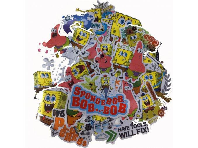 42pcs lot Spongebob Decal Brand Fuel Cap Creative Sticker for Skateboard Laptop Luggage Fridge Phone Styling.jpg 640x640