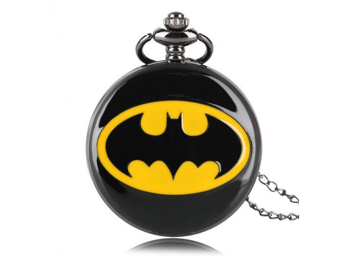 New Kid Boy Cool Batman Quartz Watch DC Comics Pocket Watches Male Clock Necklace Pendant Men.jpg 640x640