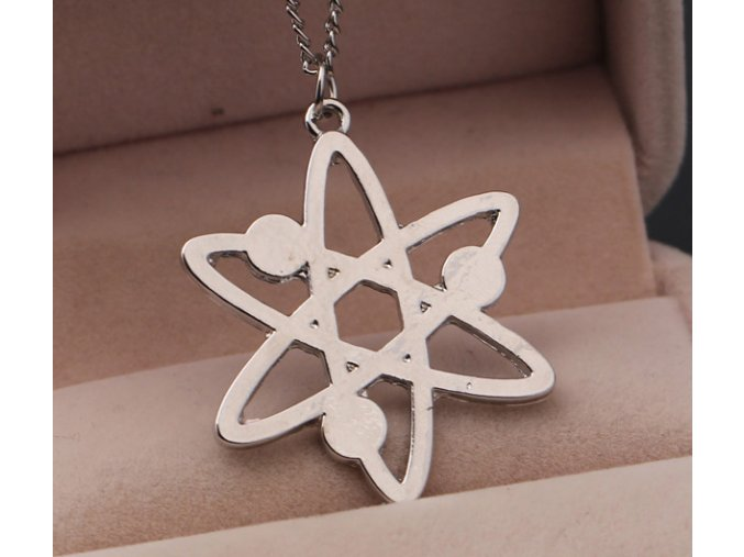 For The bigbang theory TV show atome necklace XL463
