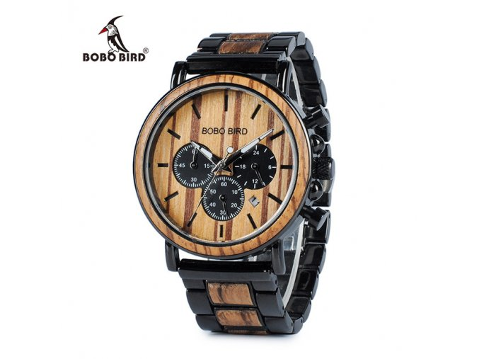 BOBO BIRD WP09 Wooden Mens Watches Top Brand Luxury Stylish Watch Wood Stainless Steel Chronograph Military.jpg 640x640