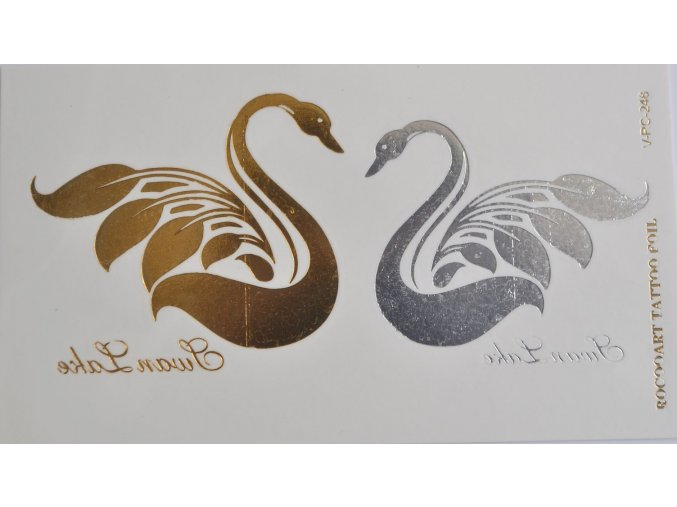 Metalické tetovanie Swan RC-246