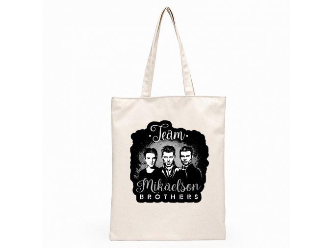 Plátená taška Team Mikaelson Brothers