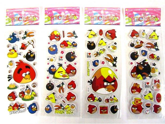 Sada nálepiek Angry Birds