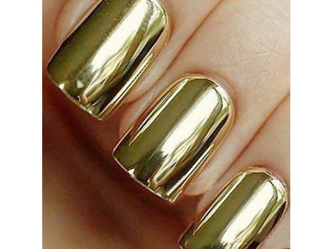 Nálepky na nechty zlaté