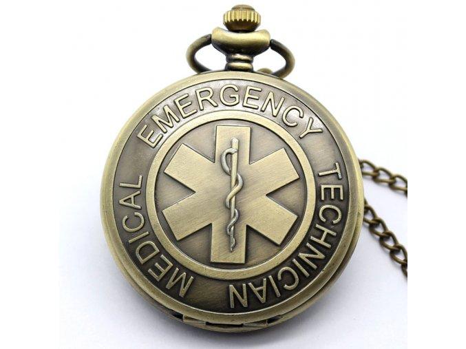 Vreckové hodinky Emergency- záchranná služba