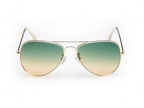 Slnečné okuliare zelené