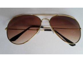 Slnečné okuliare hnedé
