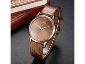 Sinobi pánske náramkové hodinky hnedé