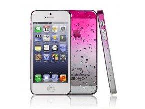 Apple Iphone 5 zadný plastový kryt ružový