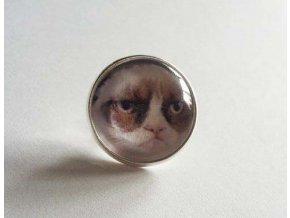 Odznak Grumpy Cat