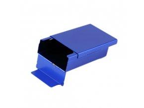 Kovový obal na cigarety - modrá