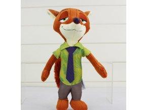 Plyšová hračka Zootropolis - Lišiak Nick