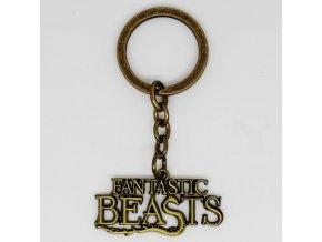 Kľúčenka Fantastické zvery a ich výskyt bronz
