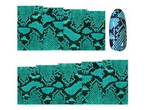 Nálepky na nechty zelené