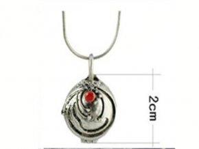 Vampire diaries náhrdelník strieborný