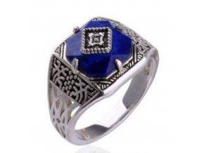 Vampire diaries (Caroline) prsteň modrý