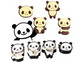 Formičky na pečenie-Panda