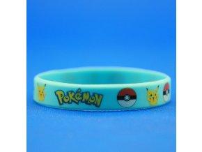 Náramok Pokémon modrý