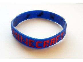 Náramok Minecraft modrý