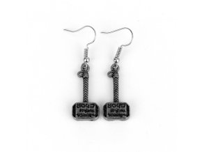Fashion Thor Hammer Earrings Avengers Series Mini Hammer Drop Earrings gift For fans movie jewelry Free.jpg 640x640