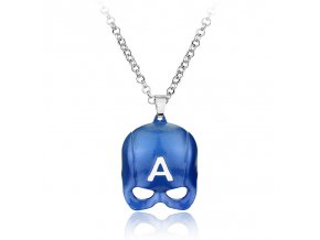 DC Comics font b Superhero b font Collection font b necklace b font Super Heroes Captain