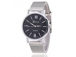 new style geneva mesh watch silver band women wristwatch quartz watches casual relogio feminino